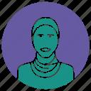 hijab, hijab icon, muslim, muslim girl, muslim woman, woman icon icon