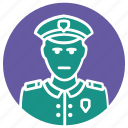 man in uniform, man uniform, police, police uniform, policeman, uniform icon