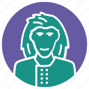 haired, long hair man, long-haired, man, rock musician, rocker icon