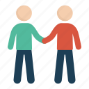 agreement, deal, handshake, man, people icon