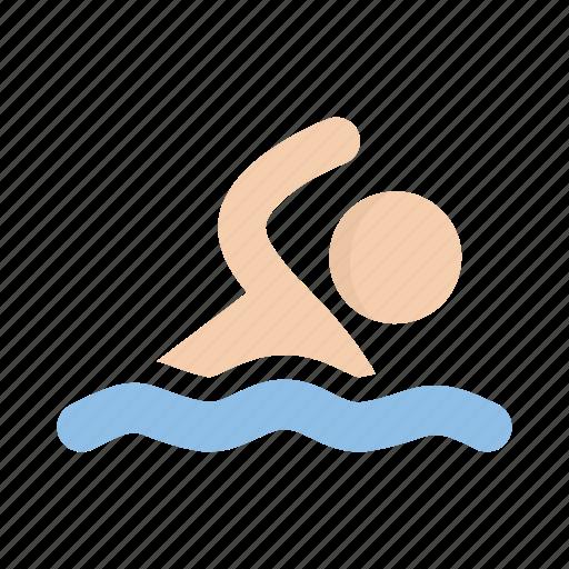 pool, sea, swim, swimming icon