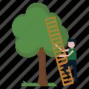 garden, gardener, nature, plant, tree icon