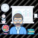 assistant professor, instructor, lecturer, professor, teacher, tutor icon
