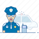 officer, patrolman, police, police officer, policeman icon