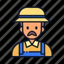 avatar, farmer, occupation, profession icon