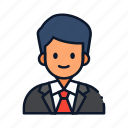 avatar, business, bussinesman, occupation, profession