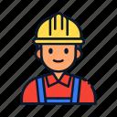 profession, contractor, avatar, occupation, profile icon