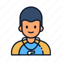 avatar, coach, fitnes, occupation, people, profession, trainer icon