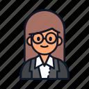 avatar, occupation, profession, teacher icon