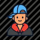 avatar, hat, hip, hop, snapback icon