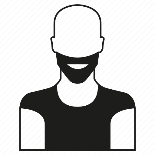 avatar, beard, character, people, person, profile, user icon