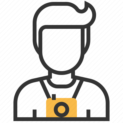 Photographer, avatar, camera, photography icon - Download on Iconfinder