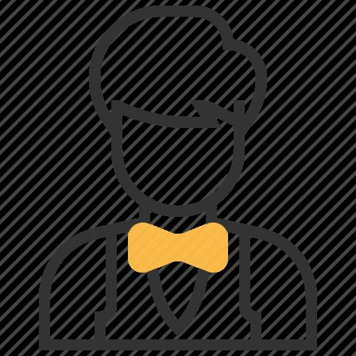 help, information, service, support, waiter icon