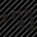 people diagram, people network, social network, community, network