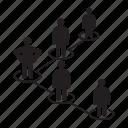 people, people diagram, people network, team icon