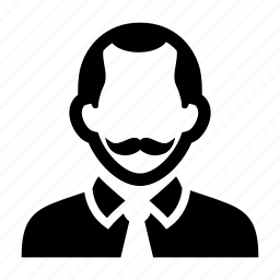 businessman, face, male, man, professional, suit icon