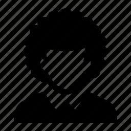 afro, face, haircut, male, man, portrait icon