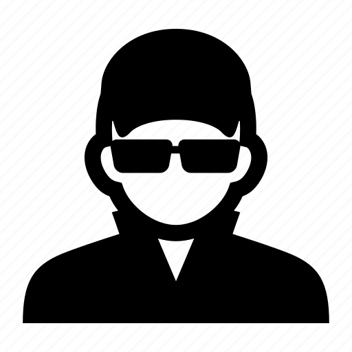 face, glasses, hat, male, man, portrait, worker icon