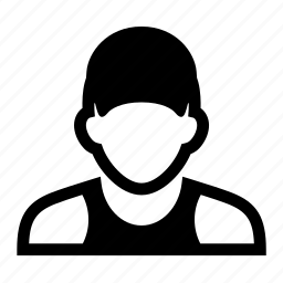 face, hat, male, man, portrait, worker icon