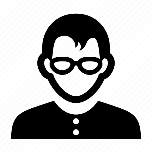 emoticon, face, fashinable, glasses, male, man, neat, portrait icon