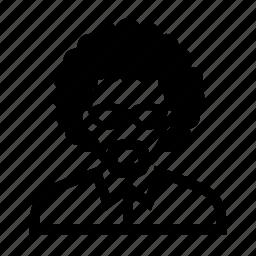 beard, elderly, face, glasses, male, man, neat, old, portrait, suit icon