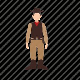 bandit, cowboy, gun, sheriff, weapon, west, wild icon