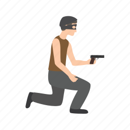 heist, mask, robber, safe, steal, stealing, thief icon
