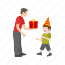 birthday, celebrate, children, colorful, fun, happy, party icon
