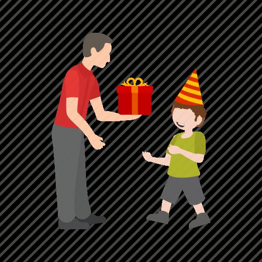 birthday, celebrate, children, colorful, fun, happy, party icon