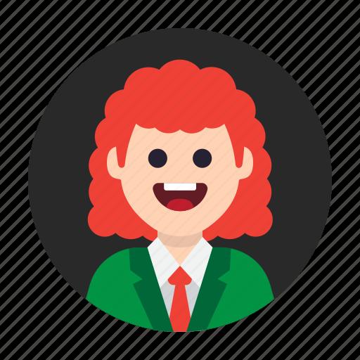 avatar, fashion, fun, funny, happy, people, person icon