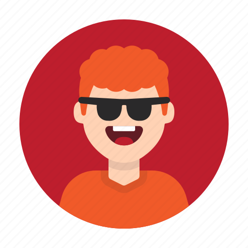 Avatar, boy, happy, kid, man, person, sunglasses icon - Download on Iconfinder
