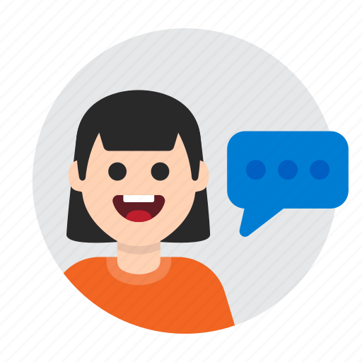 chat, comment, communication, message, speak, support, talk icon