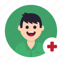 clinic, consultation, health, hospital, medical, medicine, patient icon