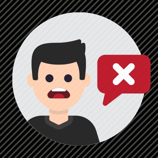 Cancel, delete, disagree, error, forbidden, prohibited, wrong icon - Download on Iconfinder