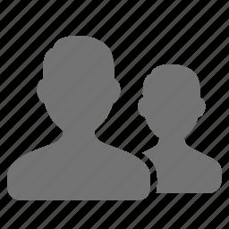 assistant, avatar, fan, follow, friend, people, user icon