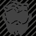 barber, beard, hair, head, man, people, service