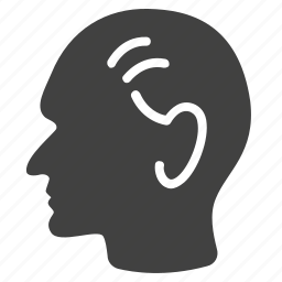 barber, hair, head, man, old, people, service icon