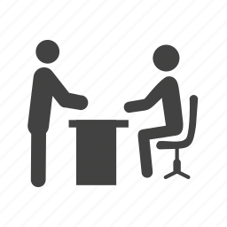 boss, business, decision, document, office, reading, work icon
