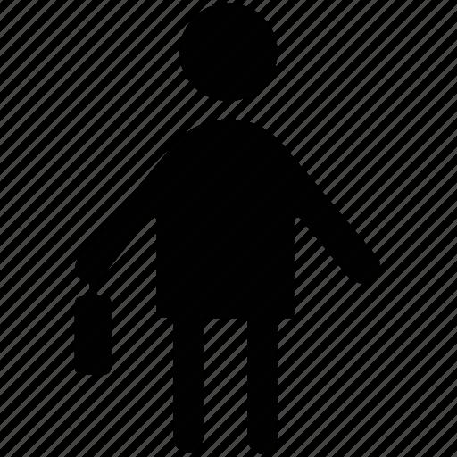 agent, clerk, employee, labourer, worker icon