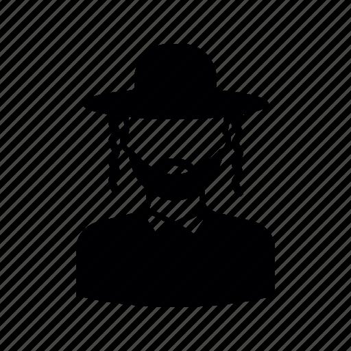avatar, hebrew, israelite, jew, jewish, user icon