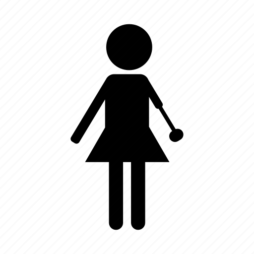 female, paralympics, prostetic icon