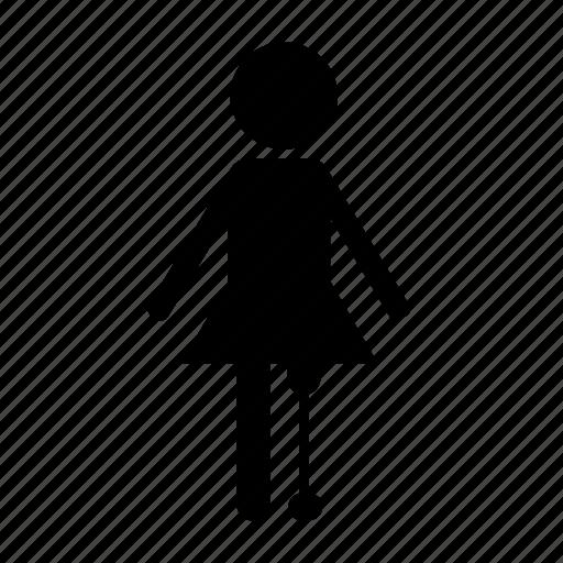 female, leg, paralympics, prostetic icon