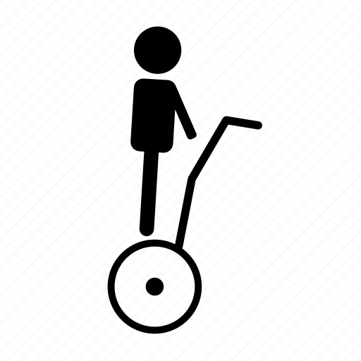 electronic, scooter, segway icon