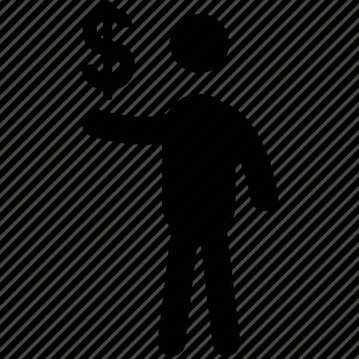business man, business person, financier, industrialist, investor, landowner icon