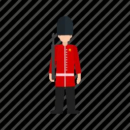 britain, british, guard, london, palace, queen, royal icon