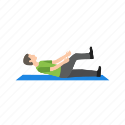 exercise, fitness, hip, people, sitting, stretch, young icon