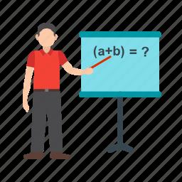 classroom, college, education, school, students, teach, teacher icon