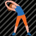 body exercise, exercising girl, fitness tricks, physical exercise, yoga icon