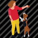 dog playing, jogging time, pet games, pet playing, puppy walk icon