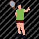badminton equipments, badminton kit, badminton racquet, racket playing, sports kit icon
